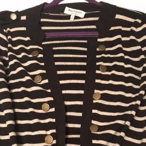 Juicy striped cardigan